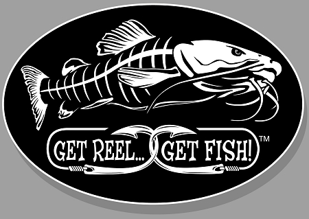 Catfish Fishing Decal 6 Quot X 9 Quot Oval