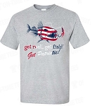 NEW!! Patriotic Fishing T's
