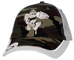 Redfish Camo Mesh-Back Fishing Cap