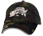 Bass Camo Fishing Cap