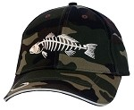 Redfish Camo Fishing Cap