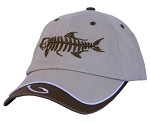 Khaki Tarpon Skeletal Fishing Cap
