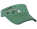 Cilantro Green TROUT SKELETAL VISOR