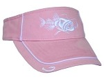 Pink 'Bad Fish' Visor