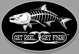 "Cobia Fishing Decal - 6"" x 9"" Oval"