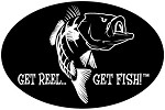 Bass Fishing Decal - 6