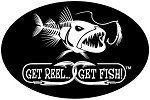 Bad Fish Fishing Decal - 6