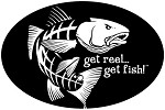 Jumping Redfish Fishing Decal - 6