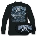 'Silver is King' Long Sleeve Fishing T-Shirt