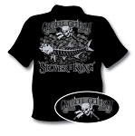 SILVER IS KING T-SHIRT BLACK
