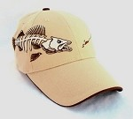 Tan Jumbo Walleye Cap