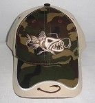 Camo 2-tone 'Bad Fish' Cap