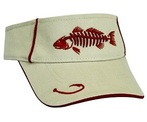 Tan Redfish Fishing Visor