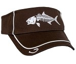 Brown Amberjack Skeletal Fishing Visor