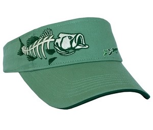 BASS VISOR - WASHED CILANTRO GREEN