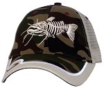 Catfish Camo Mesh-Back Fishing Cap