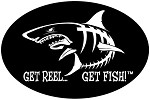 Shark Fishing Decal - 6