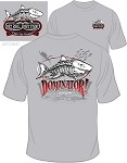 ICE GRAY DOMINATOR SHARK T-Shirt