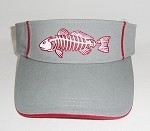 CHARCOAL Redfish Fishing Visor